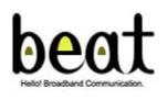富士ゼロックス株式会社『beat』取扱店 ロゴ
